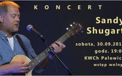 Koncert – Sandy Shugart 30.09.2017