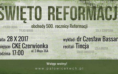 Święto Reformacji 28.10.2017