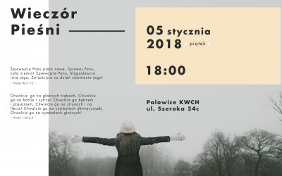 Wieczór Pieśni – 05.01.2018