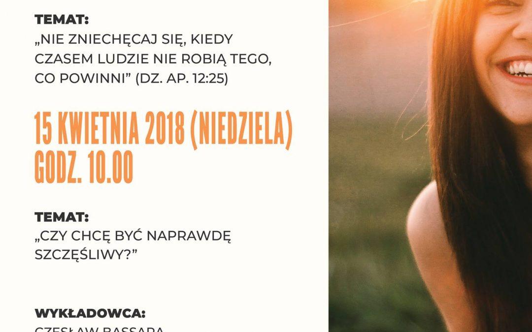 Wykłady Czesława Bassary 14-15.04.2018