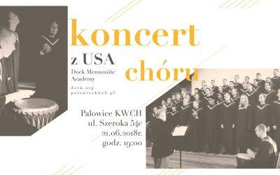 Koncert Chóru z USA 21.06.2018