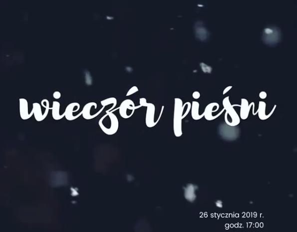 Wieczór Pieśni 26.01.2019