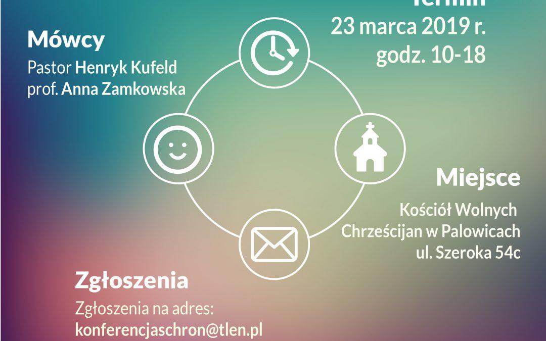 KOŚCIÓŁ W SŁUŻBIE NIEPEŁNOSPRAWNYM – Konferencja 23.03.2019